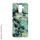 Чехол (накладка) Samsung A605 Galaxy A6 Plus, Marble