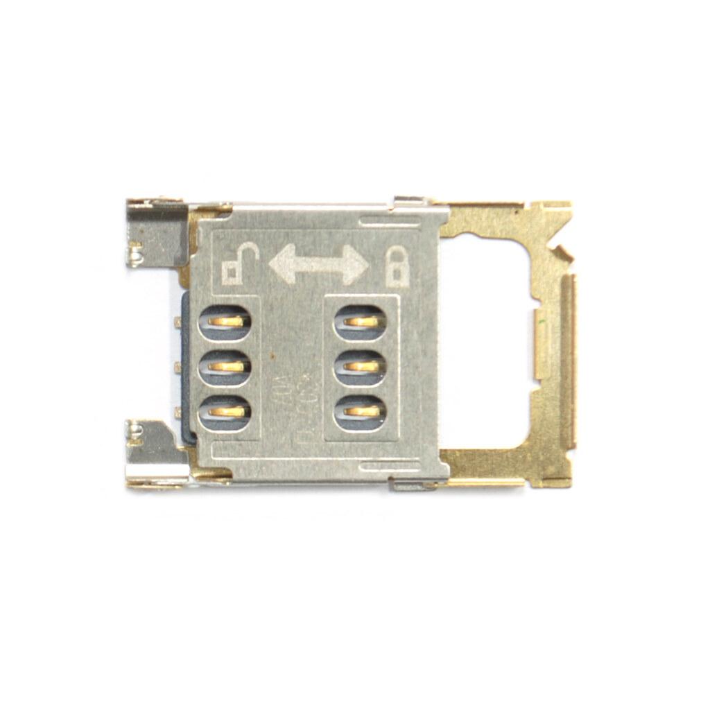 Разъем на SIM карту Nokia Asha 202 / Asha 203 / Asha 300