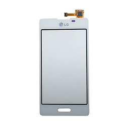 Тачскрин (сенсор) LG E450 Optimus L5 II / E460 Optimus L5 II, белый