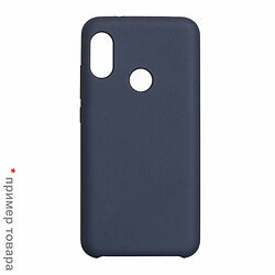 Чехол (накладка) Samsung J330F Galaxy J3 Duos, синий, Original Soft Case