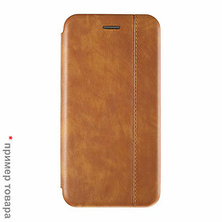 Чехол (книжка) Samsung M205 Galaxy M20, золотой, Book Cover Leather Gelius