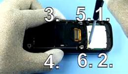 Разборка Nokia 6111 - 13   Vseplus