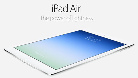 Обзор экрана Apple iPad 5 AIR (original) - 1 | Vseplus