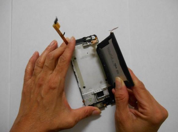 Как заменить батарею htc one v